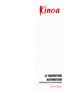 Livre Blanc sur les solutions de Marketing Automation